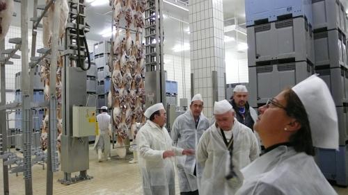 Núria Autet (IberGour) en las instalaciones de COVAP