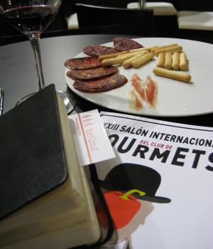Cata de ibéricos en Gourmets 2009
