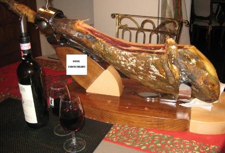 Foto del jamón Cerdos Extremeños Bellota de Marie-Chantal