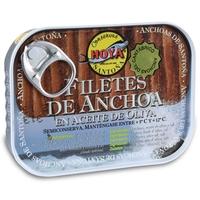 Lata de filetes de anchoa del Cantábrico