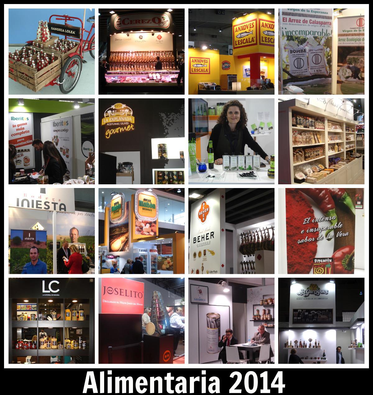 Proveedores de IberGour en Alimentaria 2014