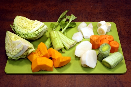 Vegetables for the broth