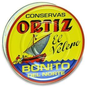 Bonito del Norte en aceite de oliva Ortiz 1825 gr
