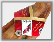 Etiqueta que certifica la calidad bellota de la denominación de origen Guijuelo